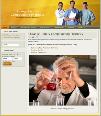 Click here to view our online compounding pharmacy demo site